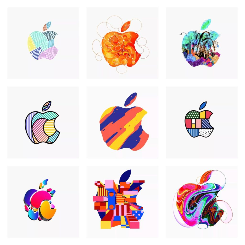 apple-logo-abstract-patterns